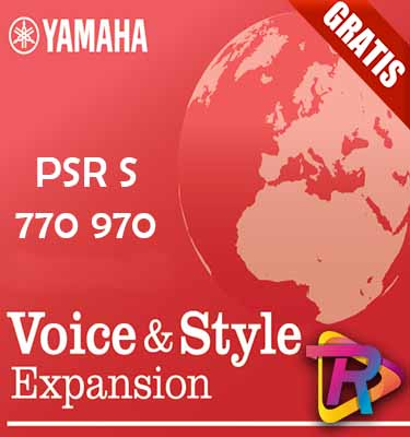 Expancion Pack Mexicano yamaha PSR-S970 S770
