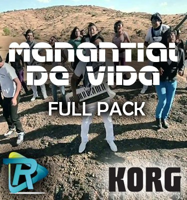 Pack de ritmos MANANTIAL DE VIDA gratis para korg Pa