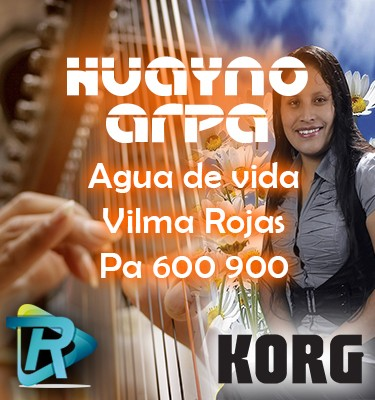 Huayno arpa ritmo korg Pa 600 900 3x