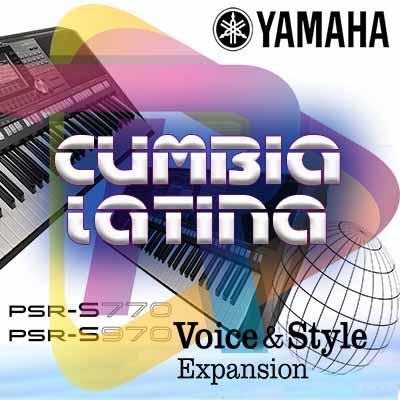 Cumbia Latina expansión pack yamaha PSR S670, S770 S970, A3000
