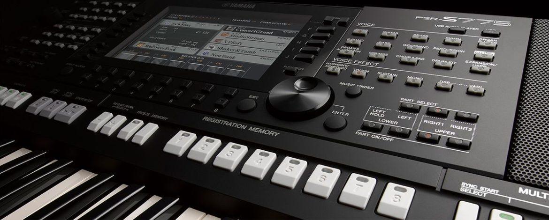 wow! conozca este poderoso teclado profesional yamaha psr-s775
