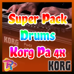 ✓Drums para Korg Pa 4X 🔥Super Pack GRATIS