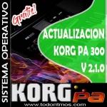 Actualización del Sistema Operativo versión 2.1 para el Pa300