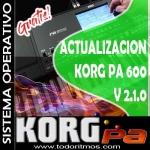 Actualización del Sistema Operativo versión 2.1 para el Pa600