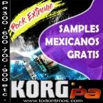 Lo mejor de samples mexicanos para korg Pa 300 en adelante